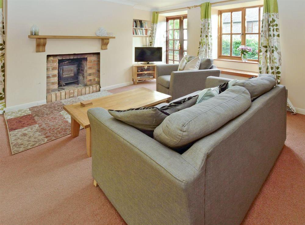 Living room at Meadowsweet Cottage in Kingswear, Nr Dartmouth, South Devon., Great Britain
