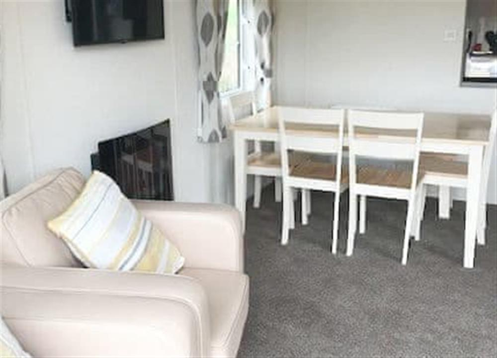 Open plan living space at The Orchard,