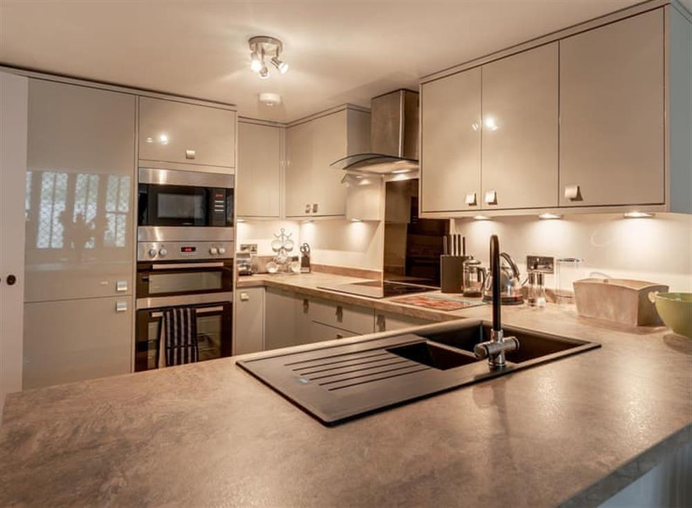 Kitchen at Merchants Rise in , Dartmouth & Kingswear