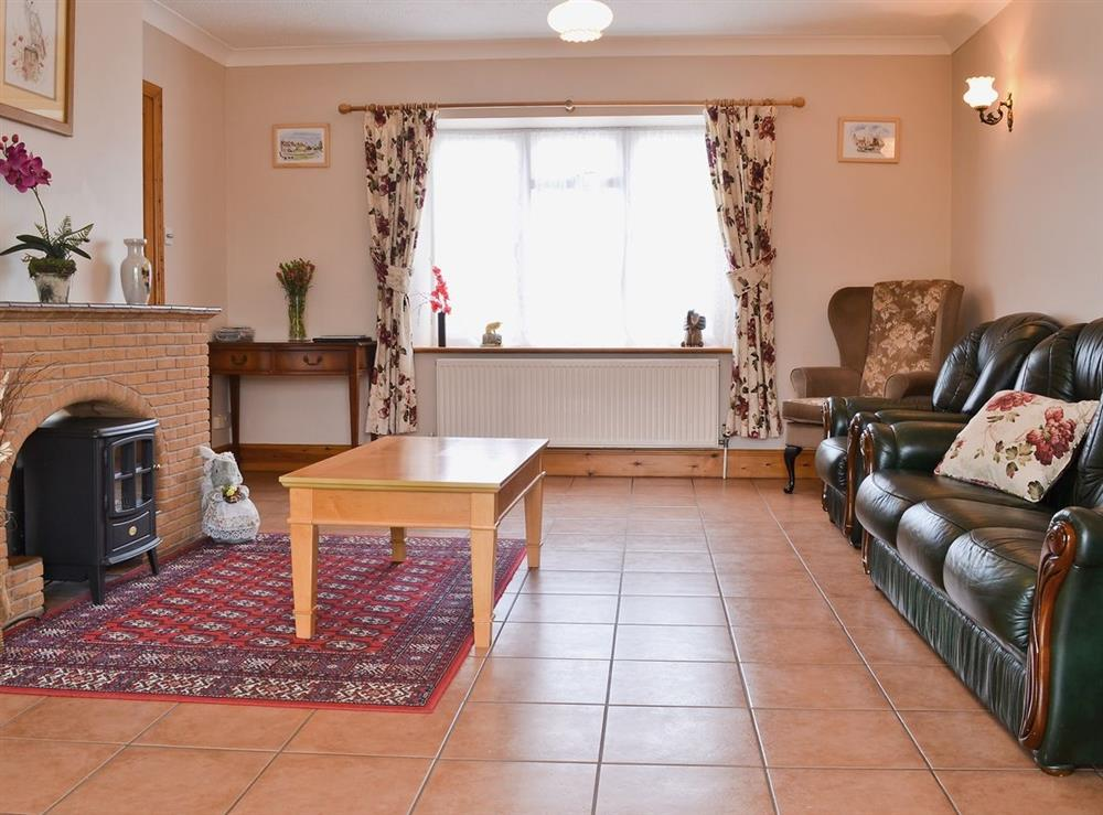 Living room at Merlins in Burnham Market, Norfolk., Great Britain