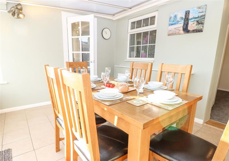The dining room at Mermaids Purse, Eccles-On-Sea
