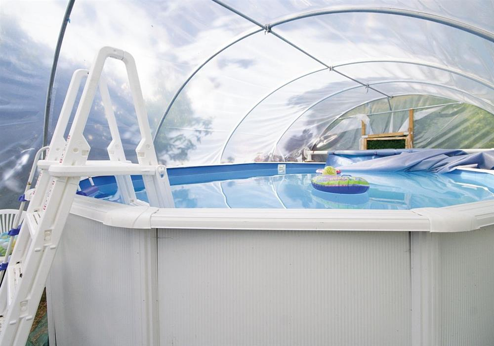 Mickrandella shared covered swimming pool at Mickrandella in Great Yarmouth, Norfolk