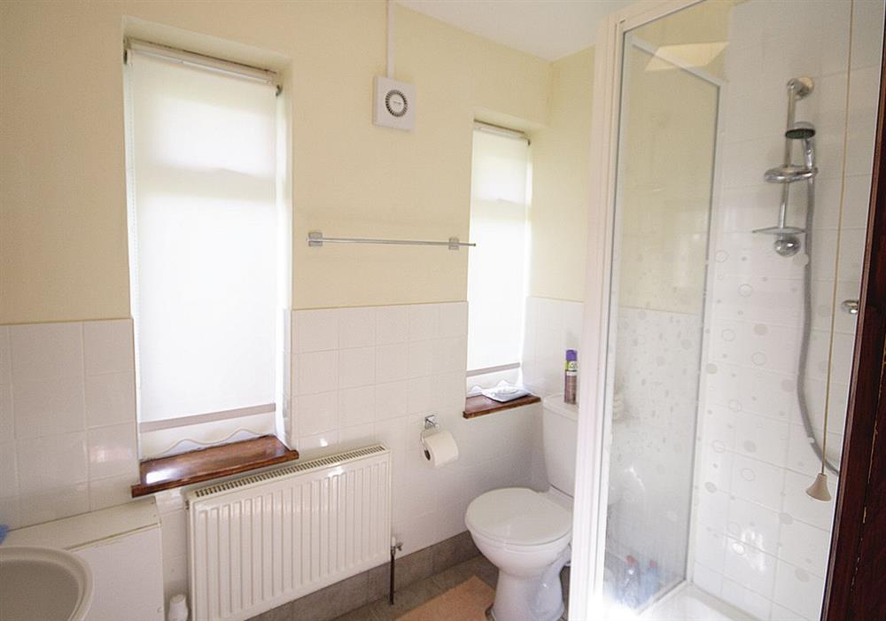 Mickrandella shower room at Mickrandella in Great Yarmouth, Norfolk