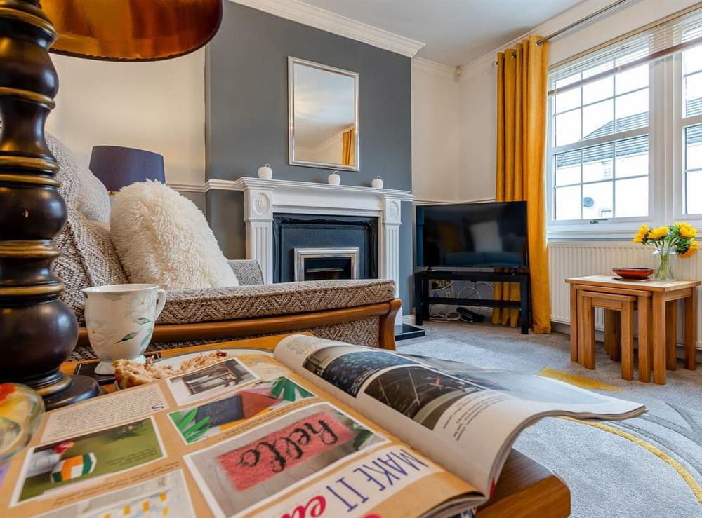Living area at Mid Street in Kirkcaldy, Fife
