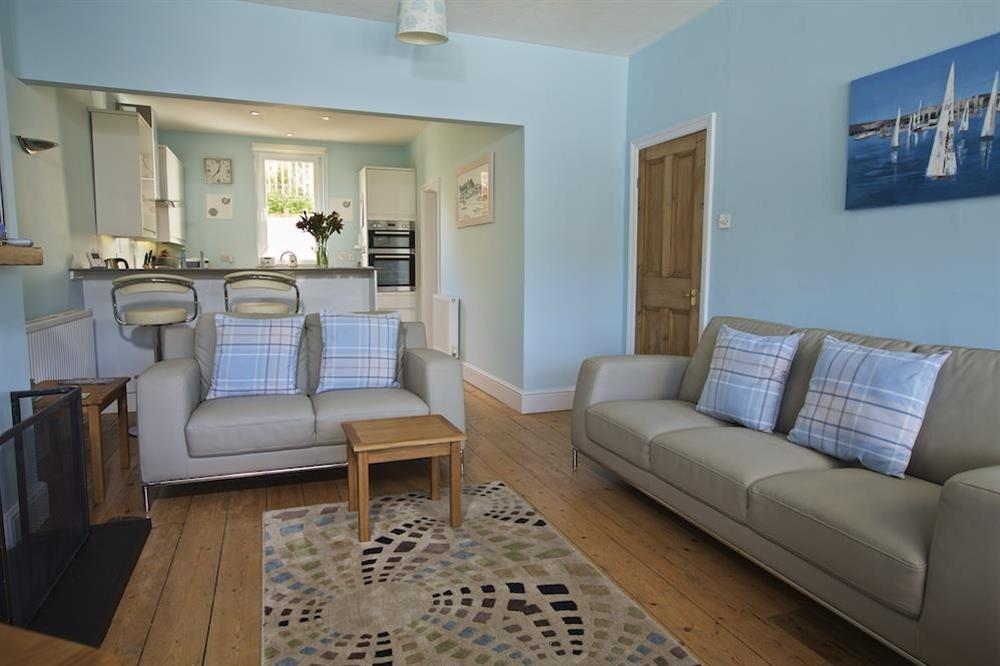 Attractive sitting area with two large sofas (photo 2) at Middle Watch in , Dartmouth