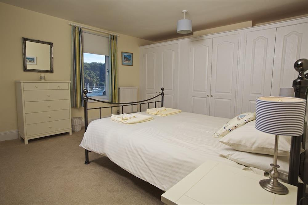 Master double bedroom (first floor) with King-size bed at Middle Watch in , Dartmouth