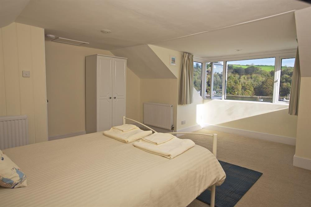 Second floor double bedroom with panoramic river views (photo 2) at Middle Watch in , Dartmouth