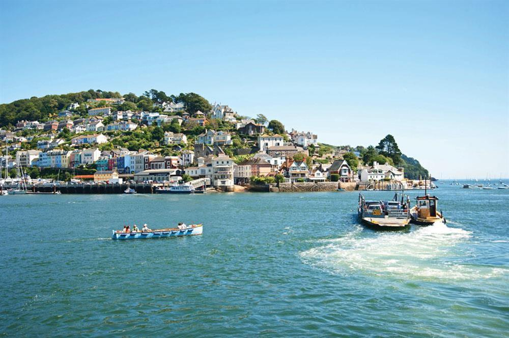 The River Dart, Dartmouth at Middle Watch in , Dartmouth