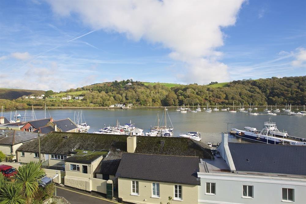View from double bedroom at Middle Watch in , Dartmouth