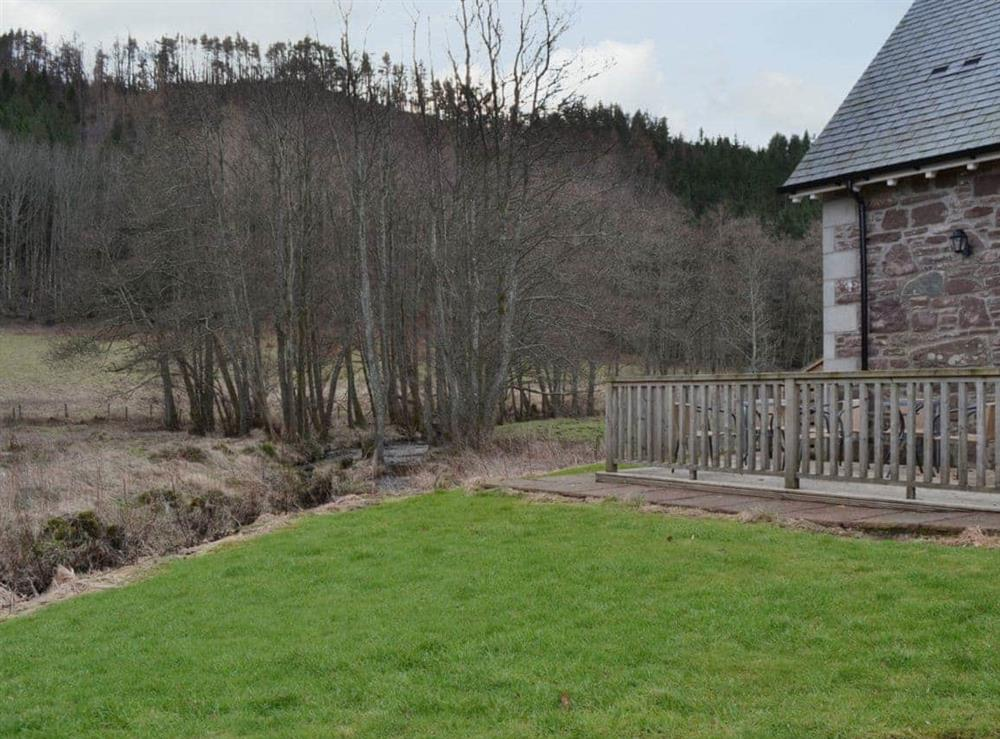 Exterior at Mill Cottage in Comrie, near Crieff, Perthshire