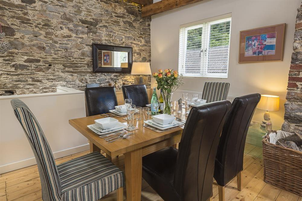 Dining area with oak table seating six (photo 2) at Mill Grange in , Dartmouth