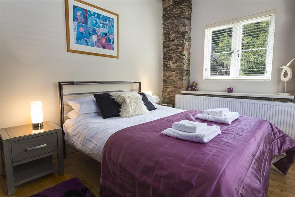 Double bedroom with King-size bed (ground floor) (photo 2) at Mill Grange in , Dartmouth