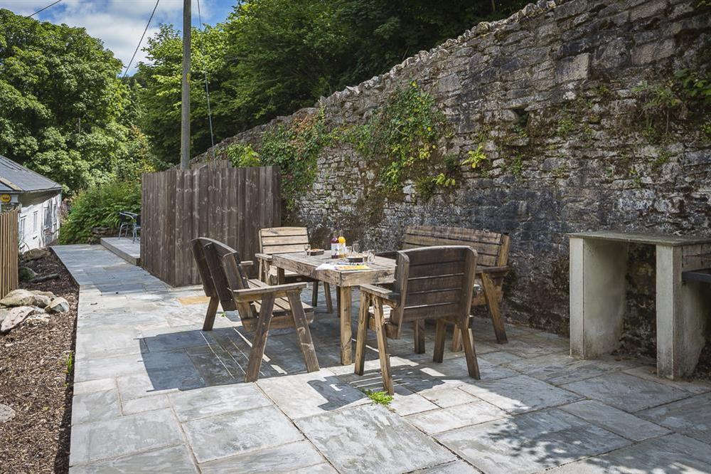 Furnished terrace with built-in barbeque available (photo 2) at Mill Grange in , Dartmouth