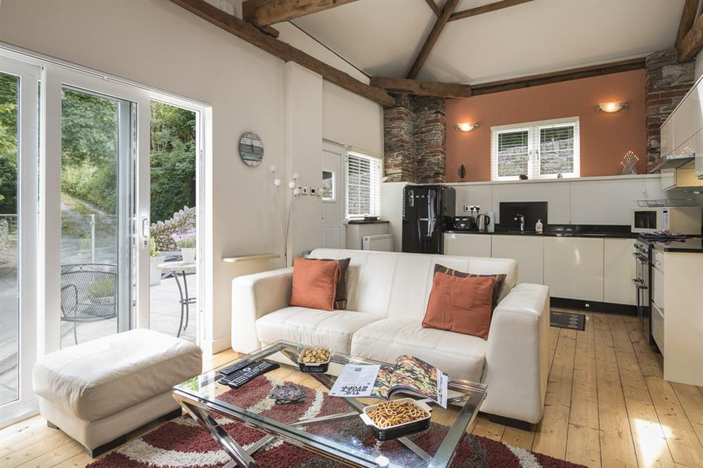 Open plan living, kitchen and dining area at Mill Grange in , Dartmouth