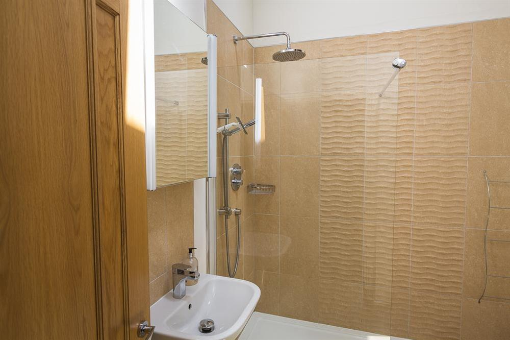 Shower room at Mill Grange in , Dartmouth
