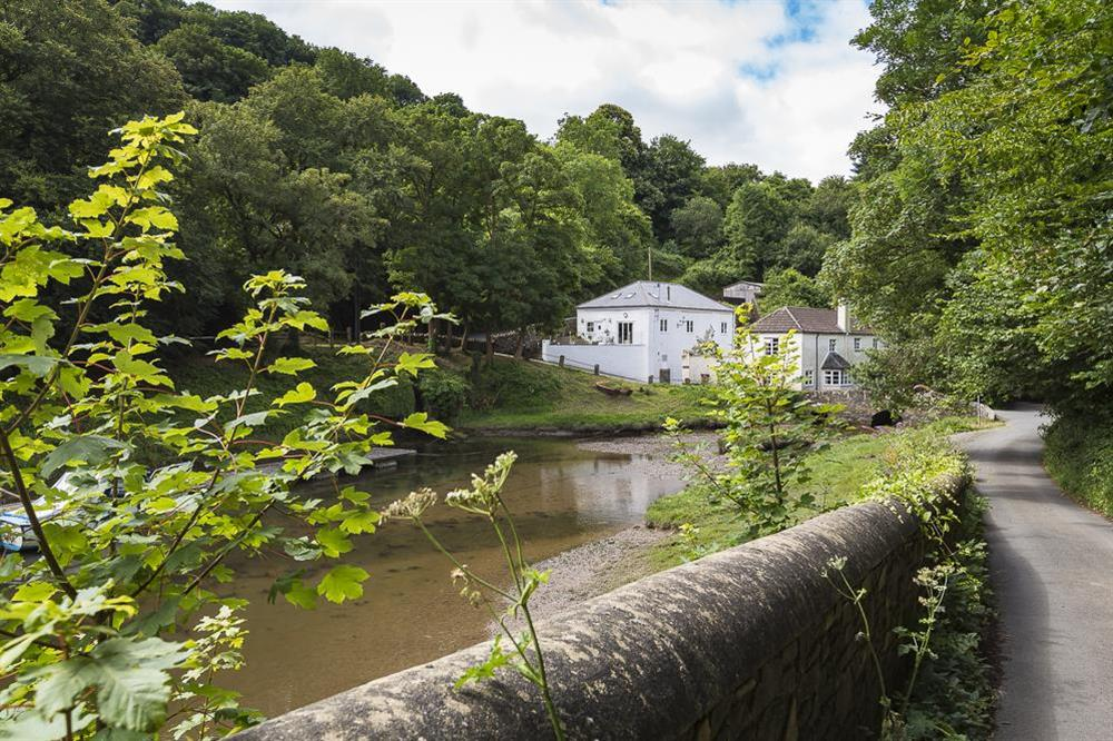 The setting of Mill Grange at Mill Grange in , Dartmouth
