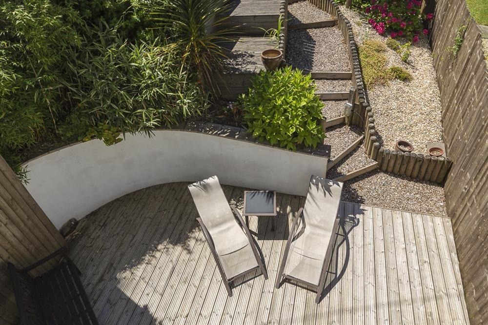 Views of the decking at Mill Grange in , Dartmouth