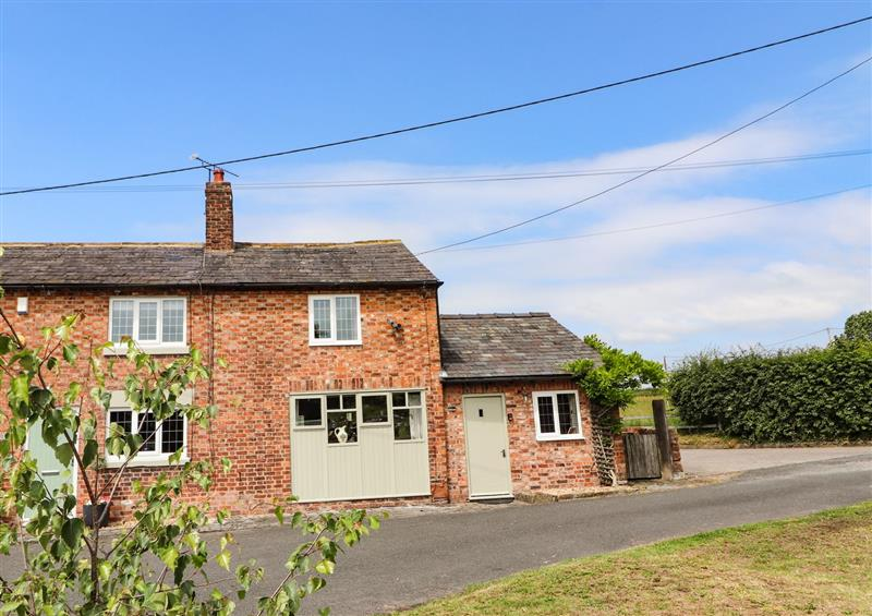 This is the setting of Mill Lane Cottage at Mill Lane Cottage, Tarvin