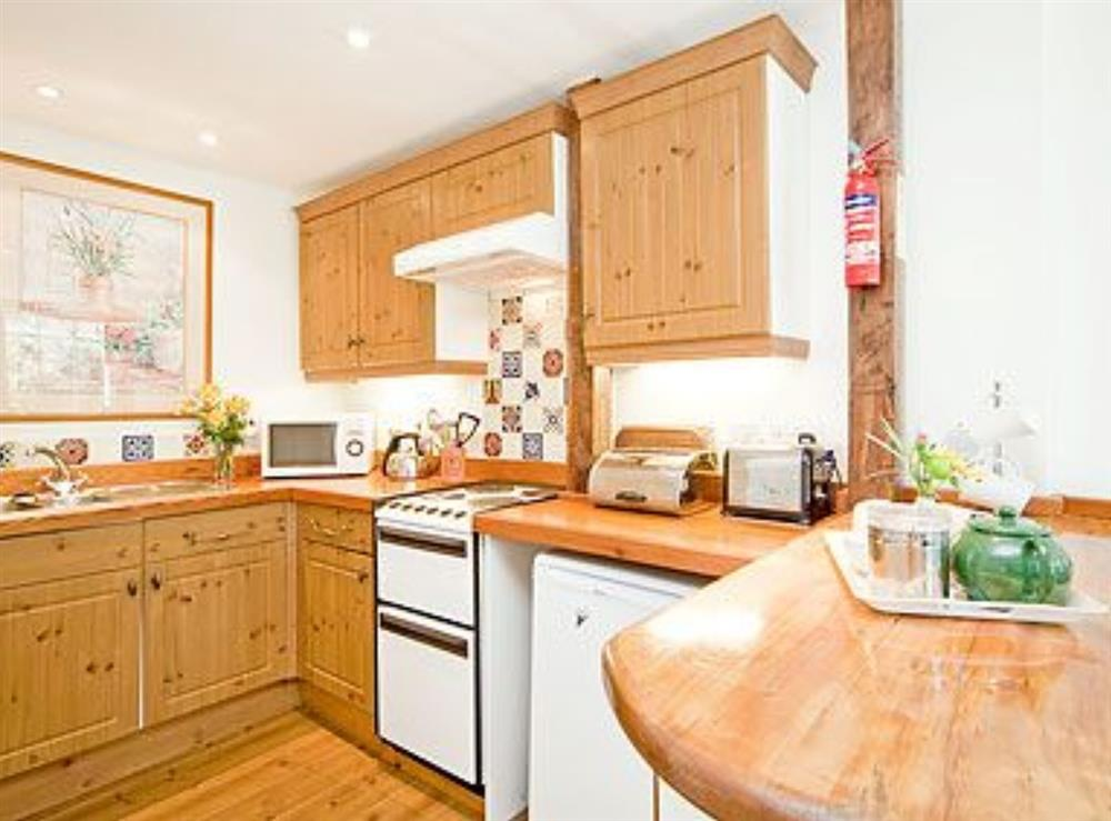 Kitchen/diner at Mill Leat in Bow Creek, Nr Totnes, South Devon., Great Britain