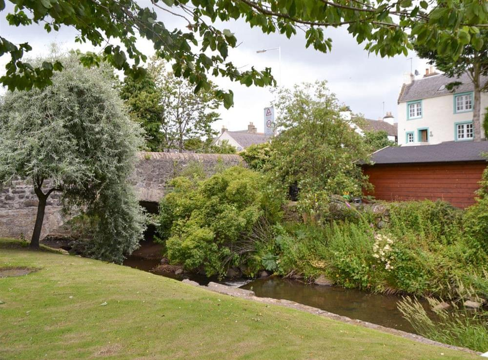 Surrounding area at Mill Pond View in Ceres, near Cupar, Fife