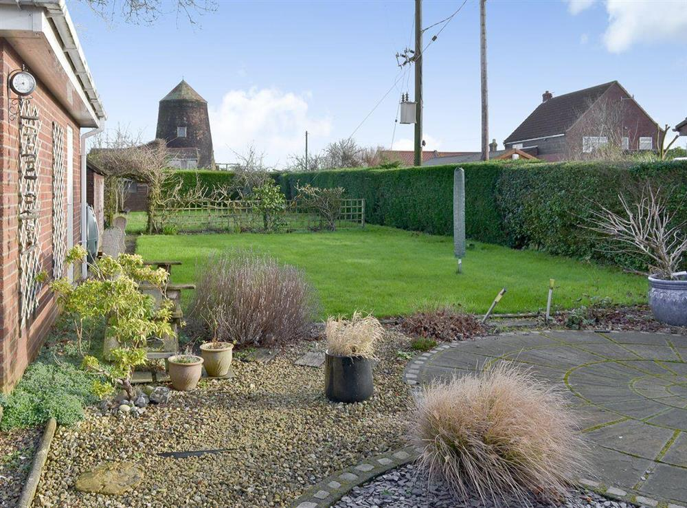 Patio area & garden at Mill View in Neatishead, near Horning, Norfolk