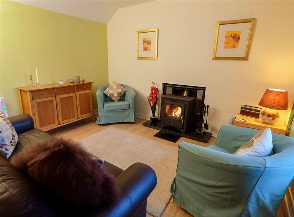 Spacious open plan living space at Mingro in Stronsay, near Whitehall, Isle Of Orkney