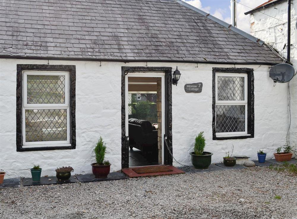 Lovely riverbank cottage at Minnow Cottage in Minnigaff, near Newton Stewart, Dumfries and Galloway, Wigtownshire