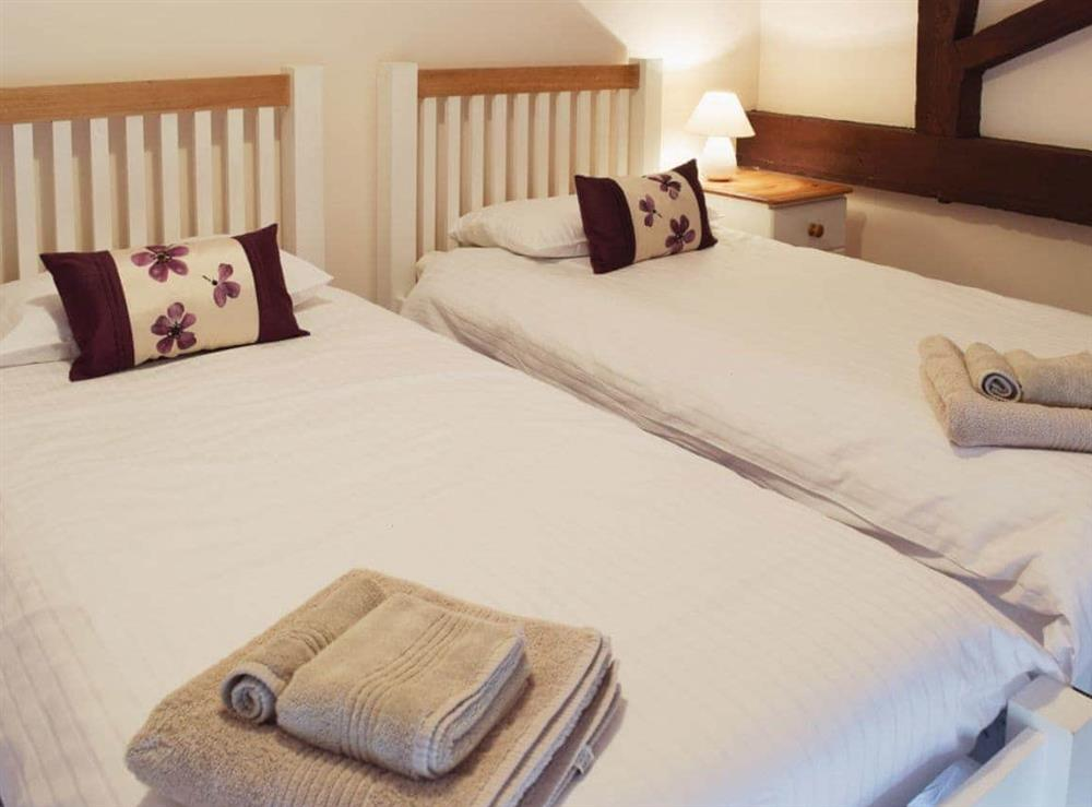 Twin bedroom at Mint in Great Yarmouth, Norfolk