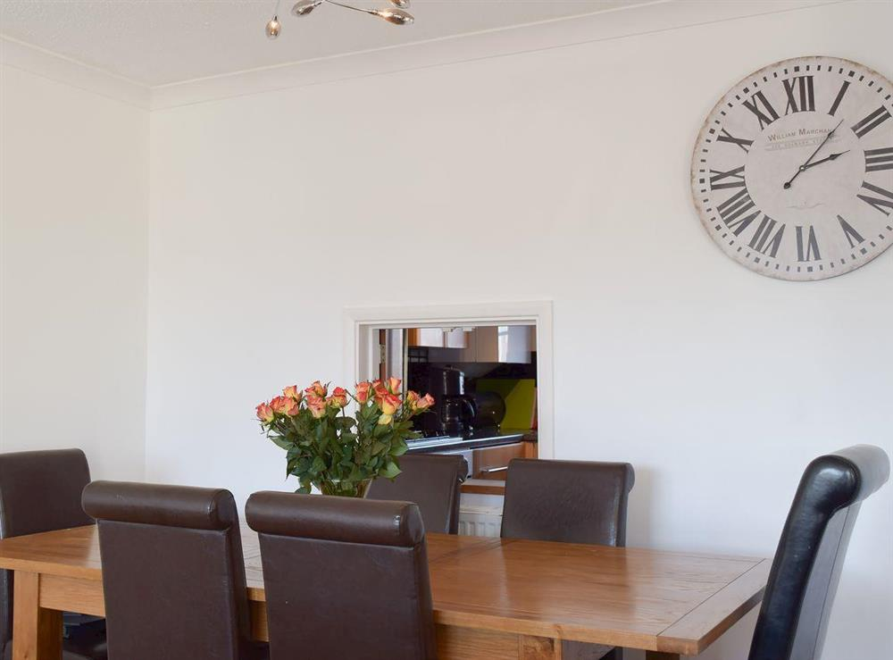 Dining area at Mirabilis in Wroxham, near Norwich, Norfolk