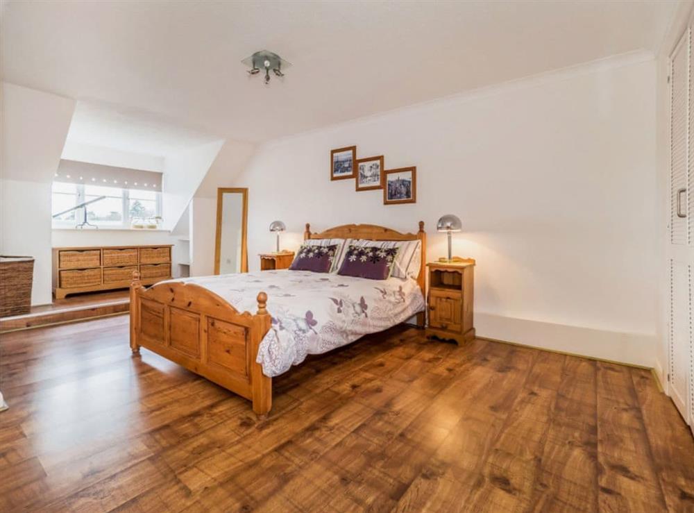 Double bedroom at Mirabilis in Wroxham, near Norwich, Norfolk