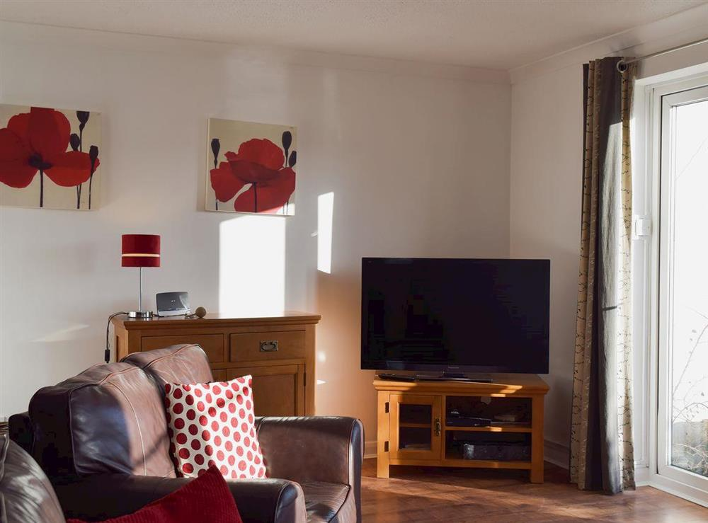 Living area at Mirabilis in Wroxham, near Norwich, Norfolk
