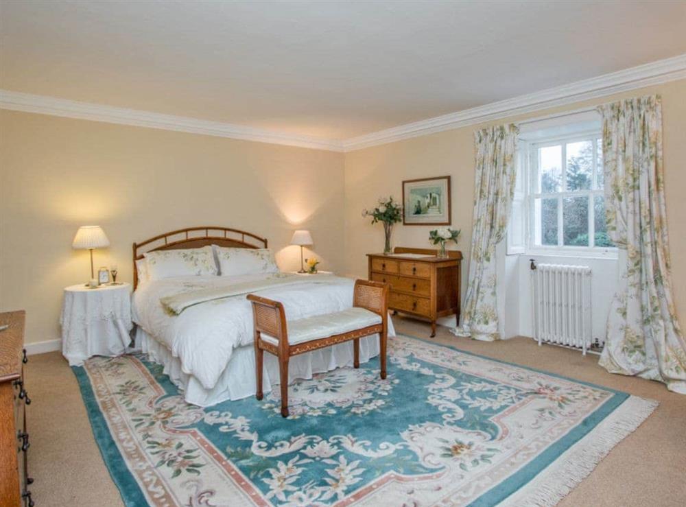 Double bedroom at Monkwood House in Minishant, near Ayr, Ayrshire