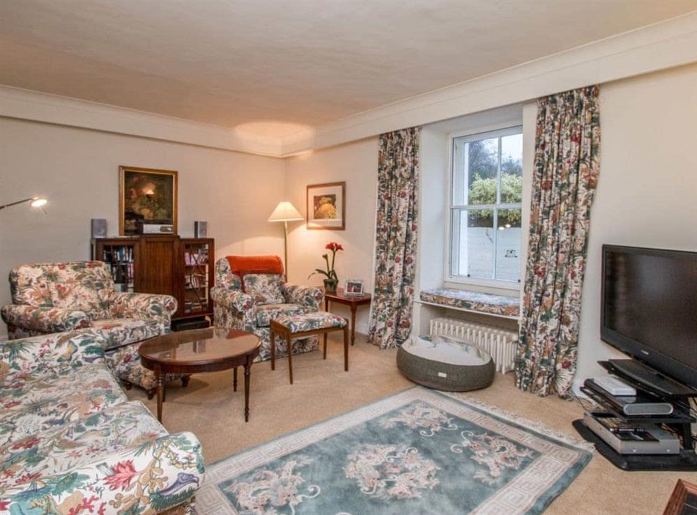 Lovely TV room at Monkwood House in Minishant, near Ayr, Ayrshire