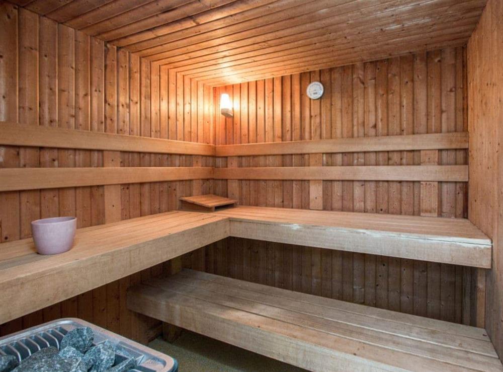 Sauna at Monkwood House in Minishant, near Ayr, Ayrshire