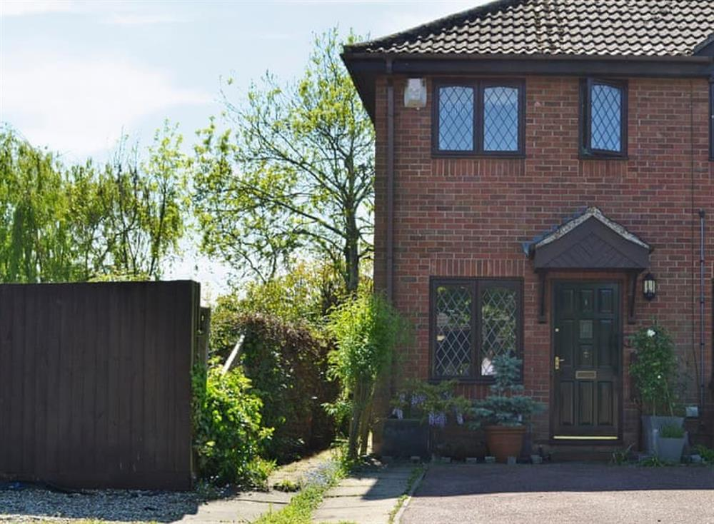Lovely end-terrace house at Moon Lodge in Wymondham, Norfolk