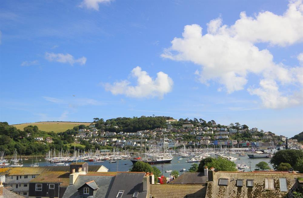 Excellent views over the town and towards the River Dart at Moonrakers in , Dartmouth