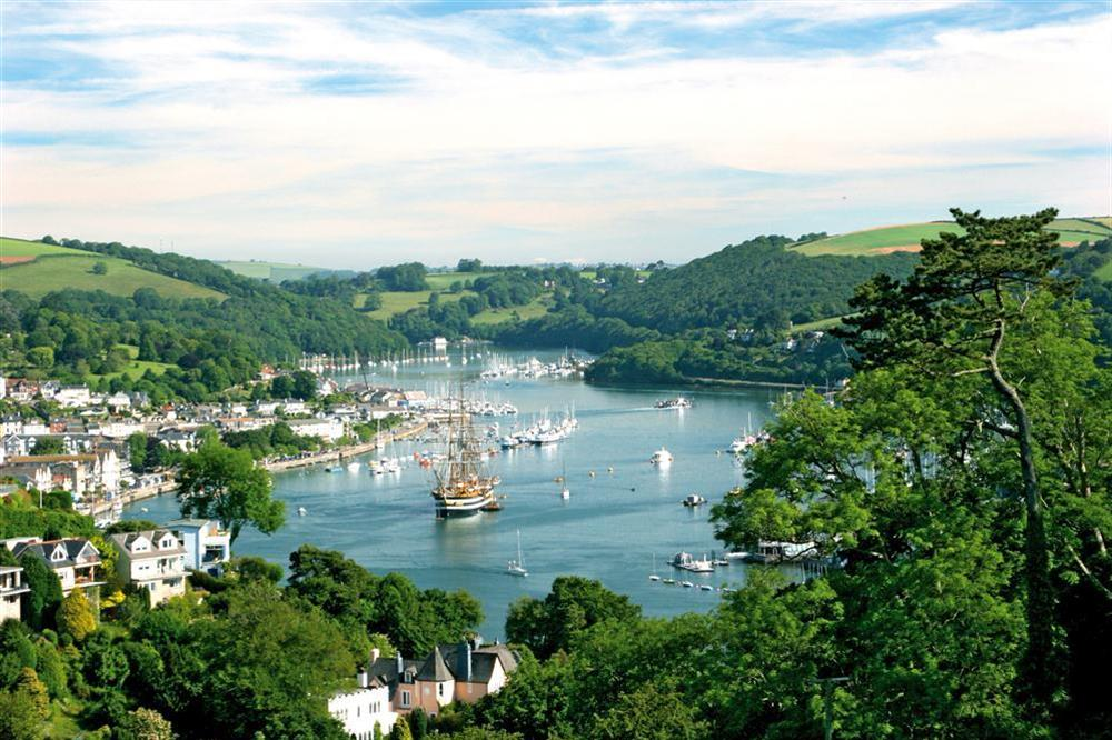 River Dart at Moonrakers in , Dartmouth