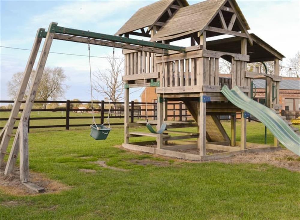Substantial children's play area
