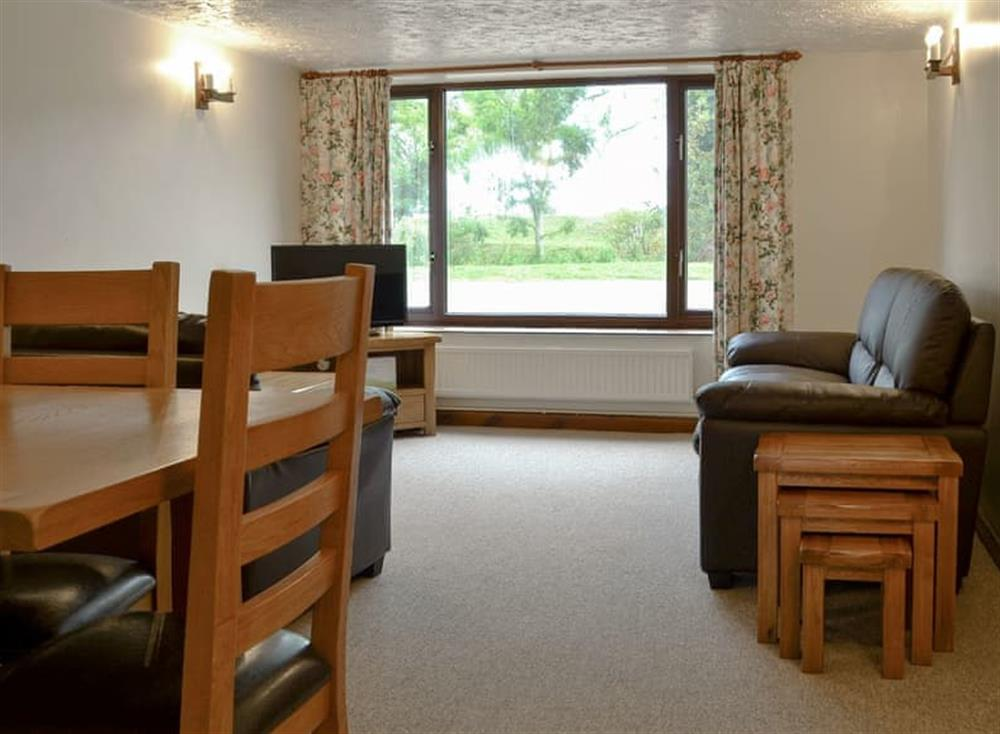 Living room/dining room at Stable Cottage 5,