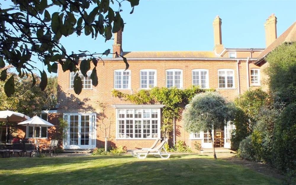 Garden at Moorings, Aldeburgh, Suffolk