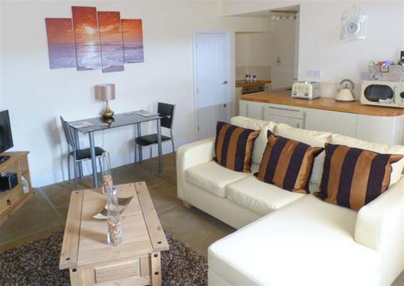 Living room at Moorland View, Oxenhope, West Yorkshire