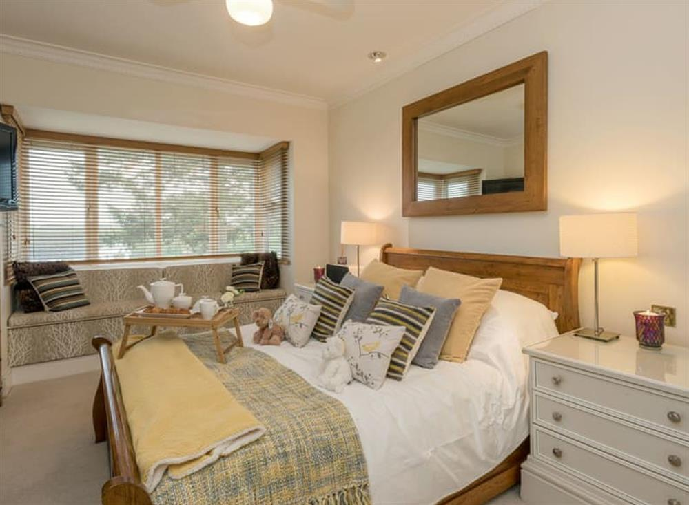 Comfortable double bedroom at Morea in Horning, Norfolk