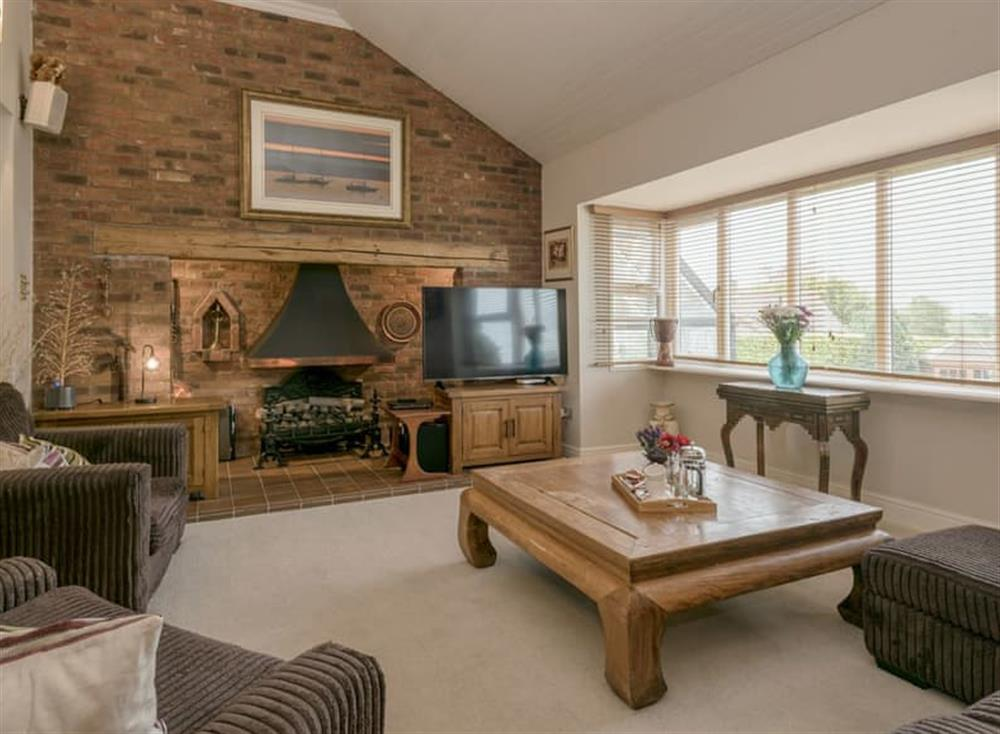 Comfortable living room at Morea in Horning, Norfolk