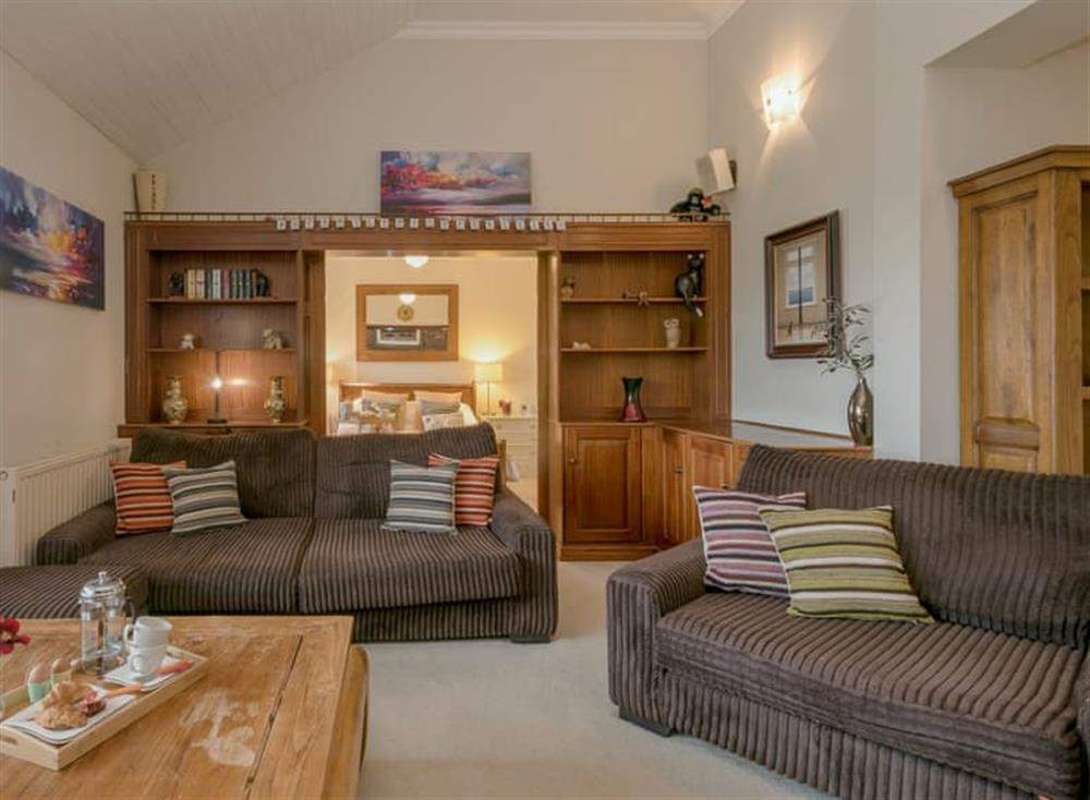 Spacious living room at Morea in Horning, Norfolk