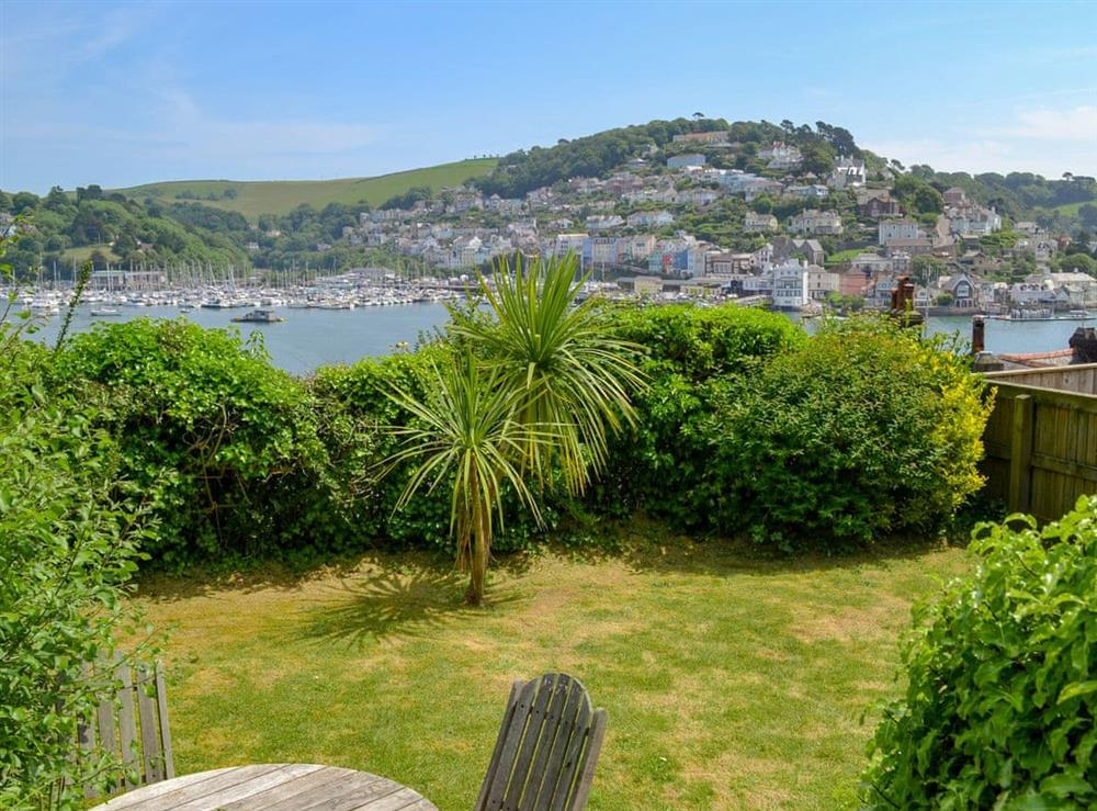 Delightful garden with great views at Morning Sun, Above Town 47 in Dartmouth, Devon