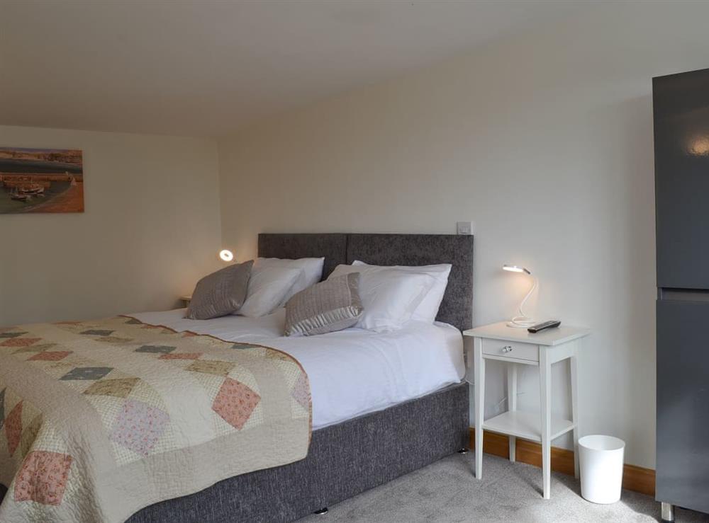 Double bedroom at Moss Hall Barn in Rushton, near Tarporley, Cheshire