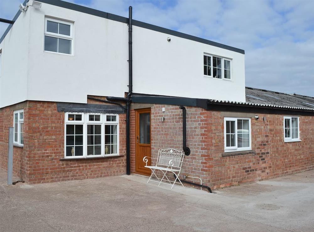Exterior at Moss Hall Barn in Rushton, near Tarporley, Cheshire