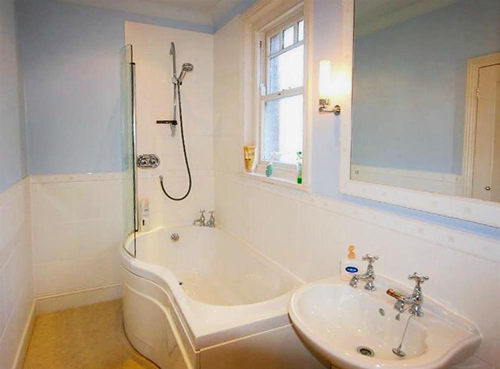Bathroom at Mount Boone 12A in Dartmouth, Devon