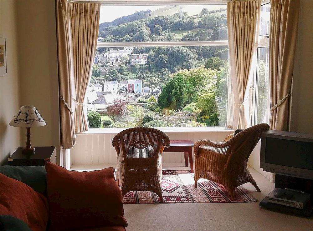 Living room at Mount Boone 12A in Dartmouth, Devon