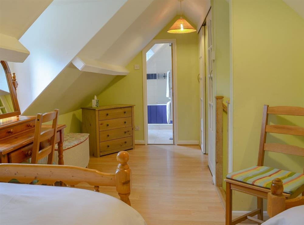 Comfortable twin bedroom (photo 2) at The Woodshed,